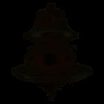 Perkins  2674A843  turbóhoz  középrész